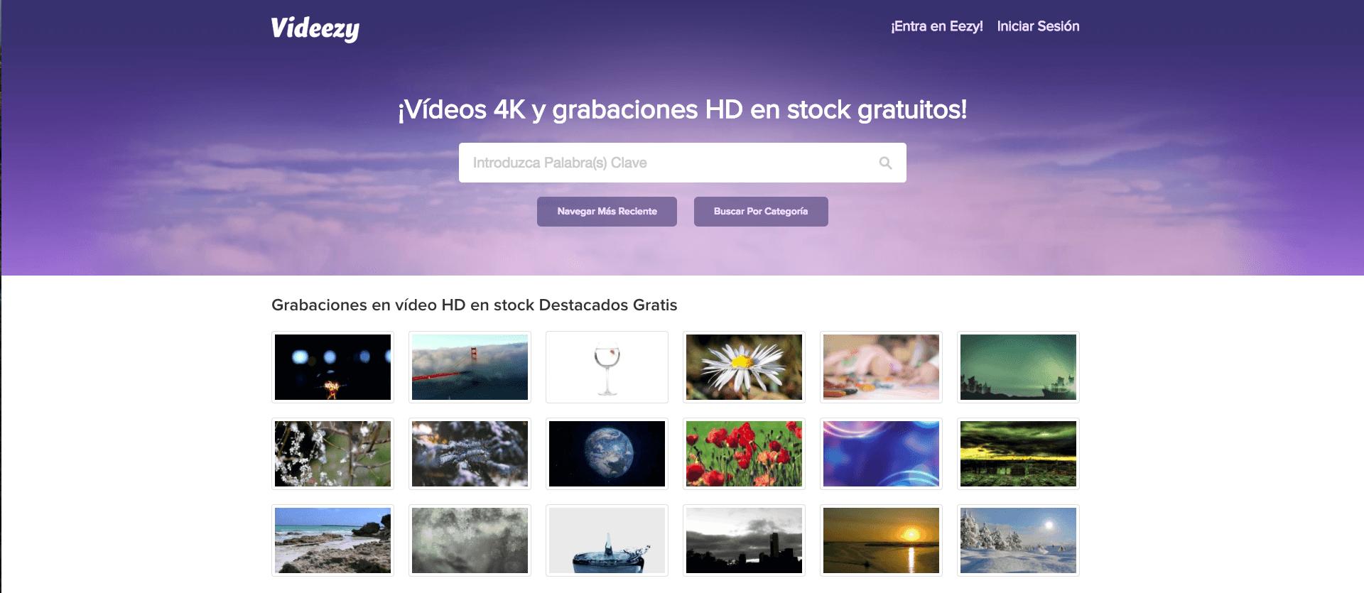 Videos en 4k