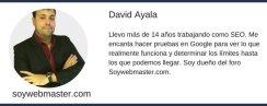 David Ayala organizador del concurso.