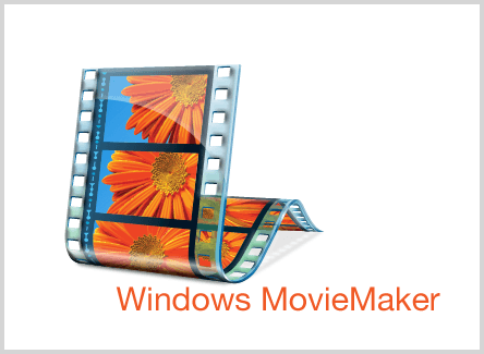 Programa de video Windows Movie Maker.