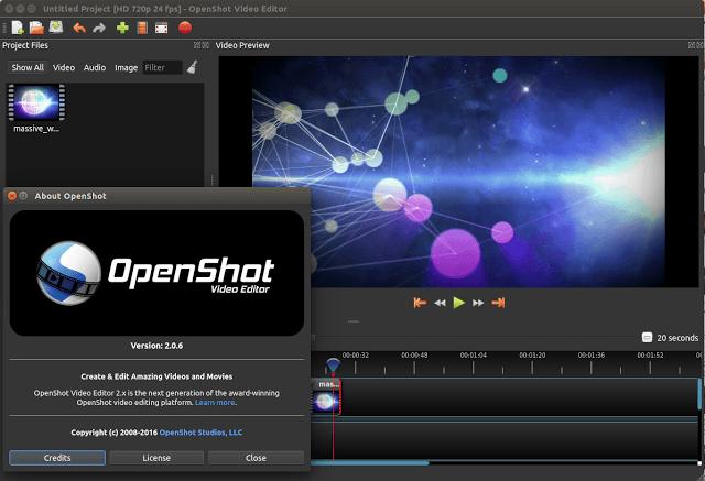 Editor de video para linux