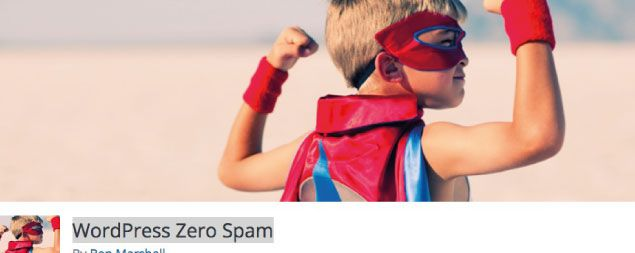 WordPress Zero Spam