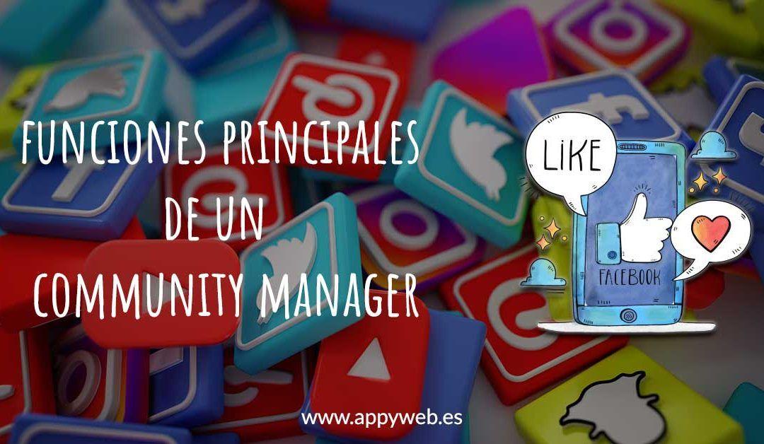 Funciones principales de un Community Manager