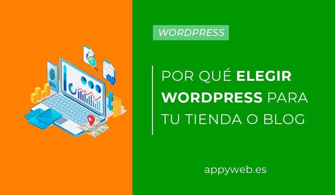 Motivos por los que elegir WordPress para tu tienda o blog