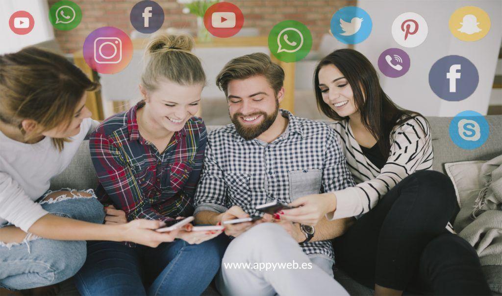 Las redes sociales son plataformas efectivas para la fidelización de usuarios