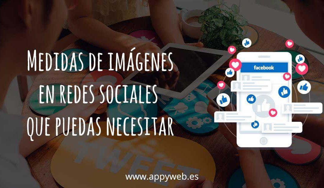 Todas las medidas de las imágenes en Redes Sociales en 2018