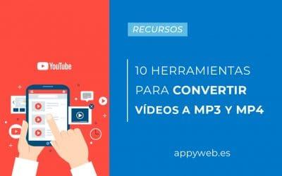 10 Herramientas web para convertir vídeos de Youtube a MP3 y MP4 sin programas (Fácil y rápido)