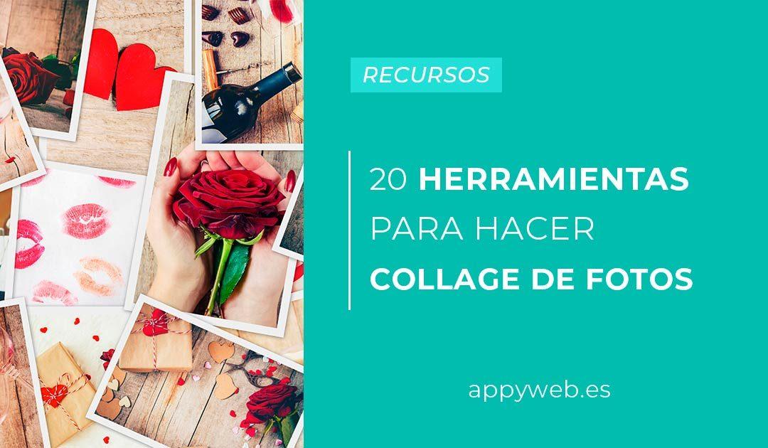 20 Herramientas para hacer Collage de Fotos