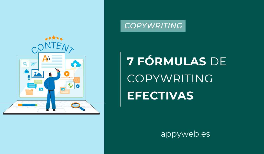 7 fórmulas de copywriting efectivas