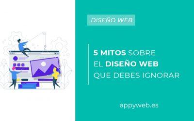 5 mitos del diseño web que debes ignorar