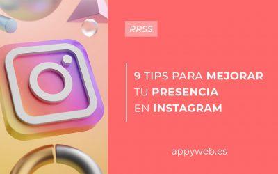 9 tips para mejorar tu visibilidad en Instagram