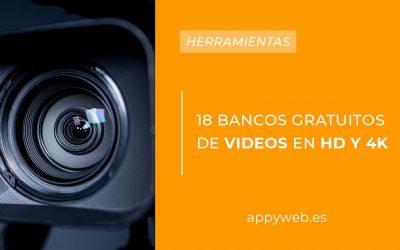 18 bancos gratuitos de vídeos HD y 4K