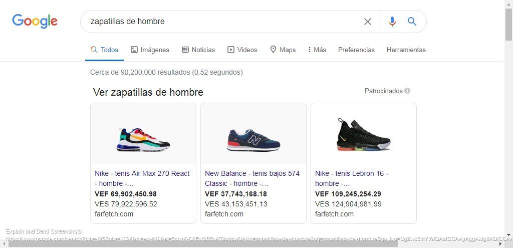 anuncio imagen google