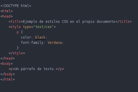ejemplo ccs