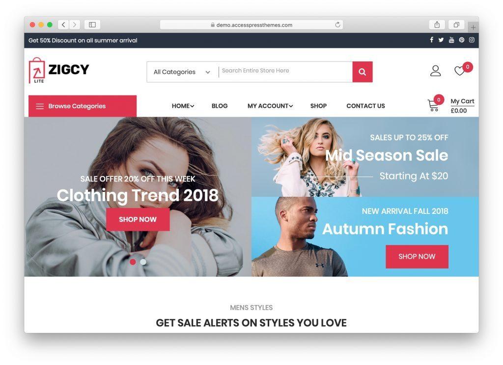 ejemplo de diseño web